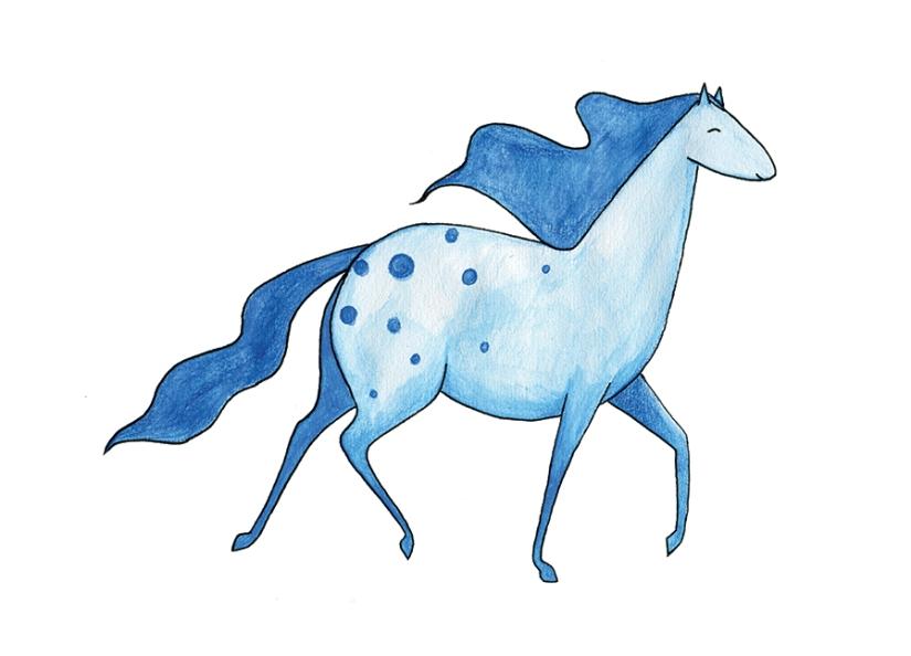 blåhäst rgb