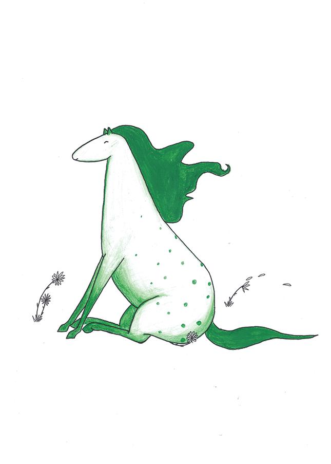 mörkgrönhäst rgb